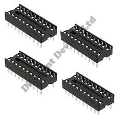 4x 20 Pin RoHS PCB IC Socket DIL/DIP 20 0.3""