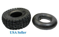 3.0-4 Knobby Tire and Inner Tube set for Motovox MVS10 stand up gas scooter