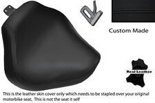 BLACK STITCH CUSTOM FITS YAMAHA XVS 1100 DRAGSTAR CUSTOM FRONT LTHR SEAT COVER