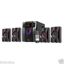 Intex 4.1 Bluetooth Speaker System IT-3005 TUF BT (USB/TF/BT/FM/AUX)  Remote*