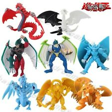 8pcs Yu-Gi-Oh! The Winged Dragon of Ra The God of Obelisk 4cm-7cm PVC Figure Set