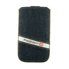 Original Diesel Denim Slim Sleeve M Jeans Tasche iphone 4 Galaxy S2 S NEU