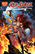 Red sonja (Conan) # 14 A, B + C variant Cover-set JG Jones, C. Castellini, Mel rubi
