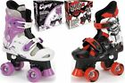 NEW Childrens Kids Boys Girls Osprey Adjustable 4 Wheel Quad Roller Skates Boots