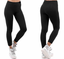 NEW WOMEN'S LADIES THICK WINTER THERMAL FLEECE LEGGINGS WARM SIZE 6-18
