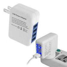 2.1A 4 Ports USB Portable Home Travel Wall Charger US Plug AC Power Adapter LO