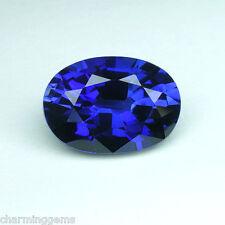 8.75 cts. STUNNING ROYAL BLUE SAPPHIRE OVAL LOOSE GEMSTONE ovale saphir bleu