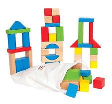HAPE Maple blocchi Baby / Bambino / bambini in legno Nursery impilamento Toy / regalo bn