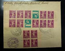 #160/168  Switzerland  2 BOOKLETS attached Luzern to NY