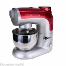 RED TORINO FOOD PROCESSOR, STAND MIXER BLENDER MEAT MINCER PASTA MAKER 800W