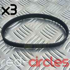 3x ELECTRIC E SCOOTER ESCOOTER DRIVE TIMING BELT HTD 384-3M-12 HTD3M-384