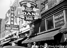 Pawn Shop Row, Beale Street, Memphis, TN - 1939 - Historic Photo Print