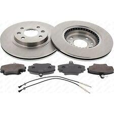 Bremsscheiben und Beläge Bremsen komplett Set DACIA RENAULT Vorderachse 47159
