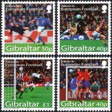 """Gibraltar 2004 """"Euro 2004""""/Football Championships/Sports/Soccer 4v set (n17488)"""