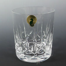 Waterford Crystal MOURNE ~ NWT Old Fashion /s 9 Ounce Rocks Tumbler Glass New