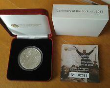 2013 Ireland Centenary of the 1913 Dublin Lockout Silver Proof Coin