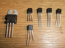 6 x TO-220 & TO-92 LM317T Adjustable Linear Voltage Regulators 1.5A