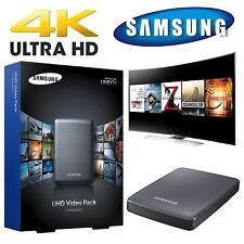 NEW Samsung CY-SUC10SH1 UHD 4K Video Pack Player 1TB HDD with 10 FREE MOVIES