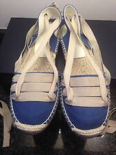 Ralph Lauren Espadrilles Shoes Size UK 6-6.5 US 9 RRP 130 NEW