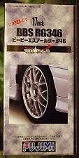 Felgen BBS RG 346 17 Zoll inkl. Reifen Pirelli P ZERO, 1:24, Fujimi 193045