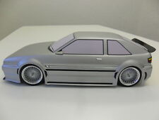 VOLKSWAGEN Corrado 1:10 RC CARROCERÍA y Decal Set VW kamtec Tamiya HPI ABS