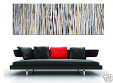 180cm x 60cm Landscape  Large Aboriginal Oil Painting with Gold by Jane Crafword