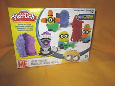 2014 Play Doh Despicable Me Minions Set Makin'Mayhem Roller Stamper Molds Shapes