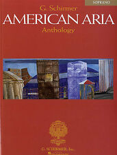 American Arias Anthology Soprano Learn to Play Vocal Choral Voice Music Book