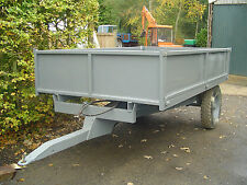 3 ton tipping trailer for use with tractor, ideal for farm, small hold, stables