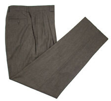 Men's BURDI Italian Woolmark Extrafine Wool Pants 54 / 38 Fits 36 NWT $275!