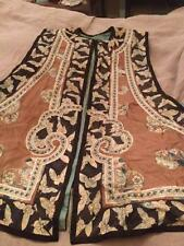 Antique Chinese Vest with Embroidery Details as-Is for id lovemyfogcity ONLY!!!