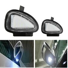 2pcs Under Side Mirror 18 LEDs Lamps for VW Golf 6 Cabriolet Passat (B7) Touran