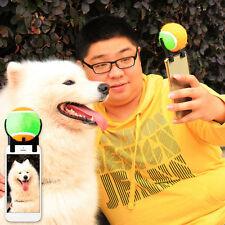 Smartphone Selfie Sound Ball für Haustier Katze Hunde Selfie Stick Spielzeug Neu
