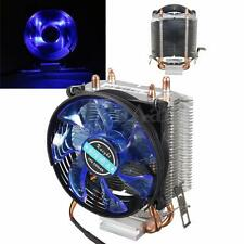 LED Copper CPU Cooling Cooler Fan Heatsink for Intel LGA775/1156/1155 AMD AM2 +