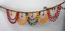 Indian Handmade Multi-color Door Hanging String decoration Garland Home Decor