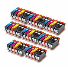 40 Pack Printer Ink Cartridges for 225 226 CANON MX892 MG5320 MG5220 MX882 chip