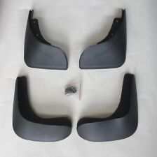"4 MUD FLAPS  (FRONT & REAR) FIT VW VOLKSWAGEN POLO 9N (""05-""10) MUDFLAPS NEW"