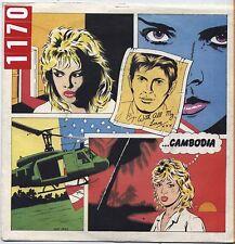 "KIM WILDE - Camboodia - VINYL 7"" 45 LP ITALY 1981 VG+ COVER VG- CONDITION"