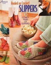 Hooked on Crochet Slippers   Annie's Crochet Pattern Book