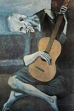 PICASSO - OLD GUITARIST POSTER - 24x36 ART PRINT 599
