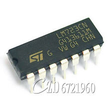 20PCS LM723CN LM723 NSC/ST DIP-14 IC Adj. Voltage Regulator 2-37V