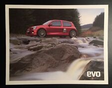 Renault Clio V6 Poster Print - Renault Sport - FREE p&p. Not 172,182, Cup,Trophy