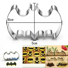 Batman Stainless Steel Cookie Cutter Mold Chocolate Cake Decorating Mousse Ring
