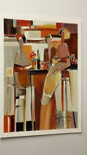 """"""" After  Hours """"  Serigraph  by Yuri Tremler ."""