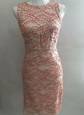 NWT Antonio Melani Barb Lace Sheath Dress Sz 14