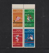 """Bund HBl 22 """"Olympiade 1972 postfrisch einwandfrei mit üblicher Zähnung"""