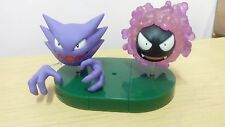 Tomy Zenkoku Edition 5 1/40 Scale Real Pokemon Figure Zukan Gastly and Haunter