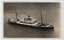 "S.S. ""COTTICA"": Royal Netherlands Steamship Co shipping postcard (C15853)"