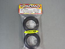"Yokomo 1/10 RC Car WHEELS DRIFT TIRE "" Type-C "" ZERO-ONE R3  ZR-DRR3 (2PCS)"