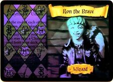 "Harry Potter AaH holo foil card ""RON the BRAVE"""